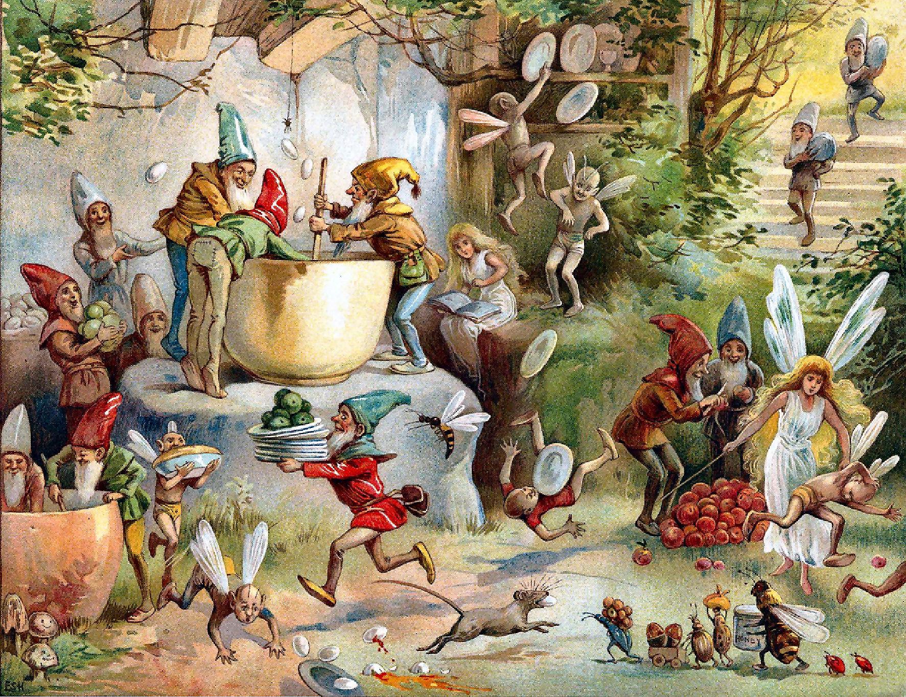 Gnomes fucking fairies pornos fantasy girlfriend